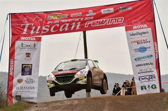Paolo Andreucci, Anna Andreussi (Peugeot 208 T16 R5 #1, Freddiys Team), CAMPIONATO ITALIANO RALLY SPARCO