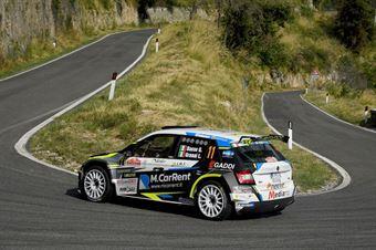 Giandomenico Basso, Lorenzo Granai (Skoda Fabia R5 #11, Sport e Comunicazione), CAMPIONATO ITALIANO RALLY SPARCO