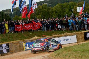 Tommaso Ciuffi, Nicolo Gonella (Peugeot 208 R2 #94, Aci Team Italia), CAMPIONATO ITALIANO RALLY SPARCO