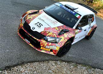 Andrea Crugnola, Pietro Ometto (Skoda Fabia R5 #16, Gass Racing), CAMPIONATO ITALIANO RALLY SPARCO