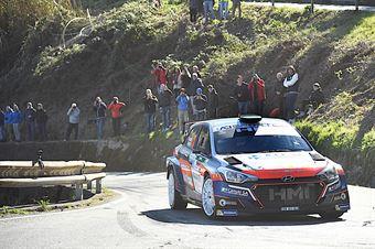 Kevin Gilardoni, Corrado Bonato (Hyundai i20 R5 #10, Movisport), CAMPIONATO ITALIANO RALLY SPARCO