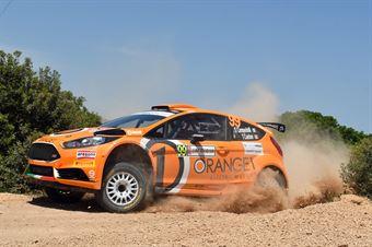 Simone Campedelli, Tania Canton (Ford Fiesta R5 #99, Orange1 M Sport Rally Team), CAMPIONATO ITALIANO RALLY