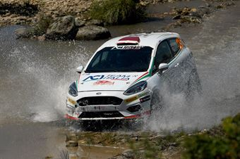 Marco Pollara, David Castiglioni (Ford Fiesta R2 #120), CAMPIONATO ITALIANO RALLY