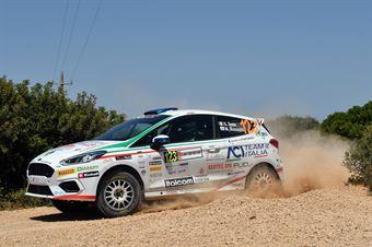 Giuseppe Testa, Massimo Bizzocchi (Ford Fiesta R2 #123), CAMPIONATO ITALIANO RALLY