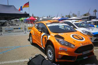 Simone Campedelli, Tania Canton (Ford Fiesta R/R5 #99), CAMPIONATO ITALIANO RALLY