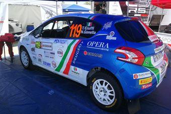 Tommaso Ciuffi, Niccolò Ciuffi (Peugeot 208 R/R2B #119), CAMPIONATO ITALIANO RALLY