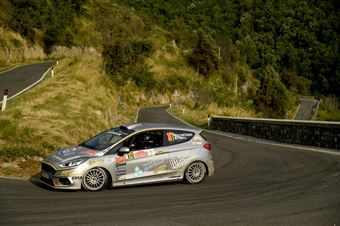 Daniele Campanaro, Irene Porcu (Ford Fiesta R1 #101, Jolly Team), CAMPIONATO ITALIANO RALLY