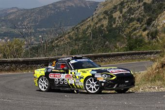 Andrea Nucita, Fernando Di Caro (Fiat Abarth 124 Rally #25, Eurospeed), CAMPIONATO ITALIANO RALLY