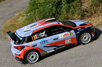 Umberto Scandola, Guido D Amore (Hyundai i20 R5 #18, Movisport), CAMPIONATO ITALIANO RALLY
