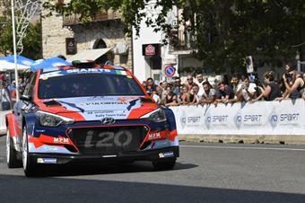 Umberto Scandola; Guido D Amore (Hyundai i20 R5 #18; Movisport), CAMPIONATO ITALIANO RALLY