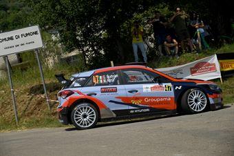 Giacomo Scattolon, Matteo Nobili (Hyundai i20 R5 #47), CAMPIONATO ITALIANO RALLY