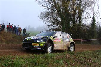 Antonio Cairoli, Anna Tomasi (Skoda Fabia R5 #10, Peletto Corse), CAMPIONATO ITALIANO RALLY