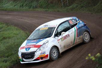 Tommaso Ciuffi, Nicolo Gonella (Peugeot 208 R2 #49), CAMPIONATO ITALIANO RALLY