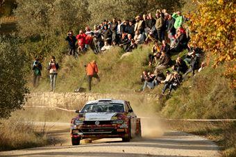 Andrea Crugnola, Pietro Ometto (Volkswagen Polo R5 #3, Gass Racing), CAMPIONATO ITALIANO RALLY
