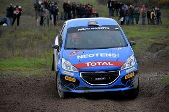 Michele Griso, Alessandro Lucato (Peugeot 208 R2 #52, MS Munaretto), CAMPIONATO ITALIANO RALLY
