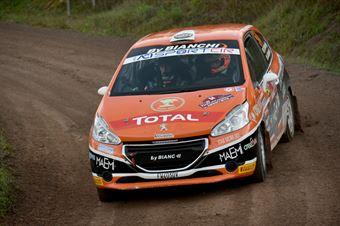 Davide Nicelli, Alessandro Mattioda (Peugeot 208 R2 #54, La Superba), CAMPIONATO ITALIANO RALLY