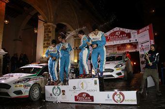 Podio Junior CIR, CAMPIONATO ITALIANO RALLY