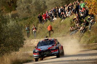 Umberto Scandola, Guido Damore (Hyundai i20 R5 #5, Movisport), CAMPIONATO ITALIANO RALLY