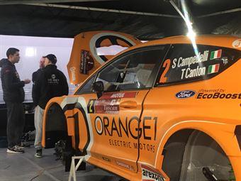 Simone Campedelli, Tania Canton (Ford Fiesta R5 #2), CAMPIONATO ITALIANO RALLY