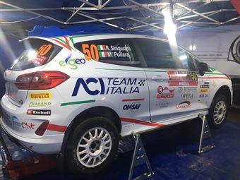 Marco Pollara, Rosario Siragusano (Ford Fiesta R2B, #50), CAMPIONATO ITALIANO RALLY