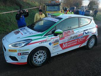 Andrea Mazzocchi, Silvia Gallotti (Ford Fiesta R2 #51, Leonessa Corse), CAMPIONATO ITALIANO RALLY