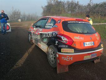 Davide Nicelli, Alessandro Mattioda (Peugeot 208 R2 #54 La Superba), CAMPIONATO ITALIANO RALLY