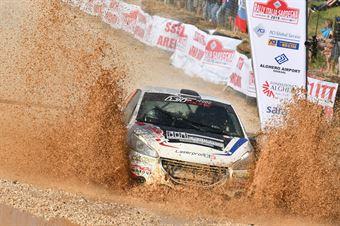 Barone Jr, Simona Righetti (Peugeot 208 R2 #130), CAMPIONATO ITALIANO RALLY TERRA