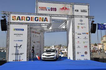 Gabriele Campagnoli, Nicola Arena (Subaru Impreza N15 #118), CAMPIONATO ITALIANO RALLY TERRA