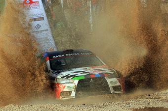Mattia Codato, Christian Dinale (Mitsubishi Lancer Evo X #114, Hawk Racing Club), CAMPIONATO ITALIANO RALLY TERRA