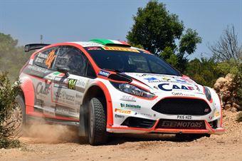 Andrea Dalmazzini, Giacomo Ciucci (Ford Fiesta R5 #104), CAMPIONATO ITALIANO RALLY TERRA