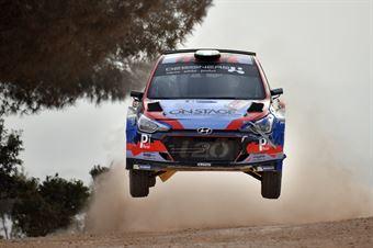 Luca Hoelbling, Federico Fiorini (Hyundai i20 R5 #107), CAMPIONATO ITALIANO RALLY TERRA