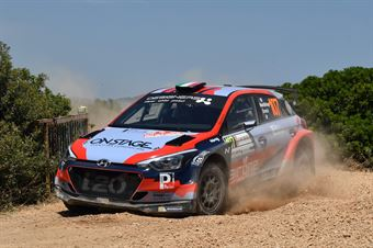 Luca Hoelbling, Mauro Grassi (Hyundai i20 R5 #107), CAMPIONATO ITALIANO RALLY TERRA