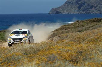 Michele Liceri, Salvatore Mendola (Peugeot 208 R2 #127), CAMPIONATO ITALIANO RALLY TERRA