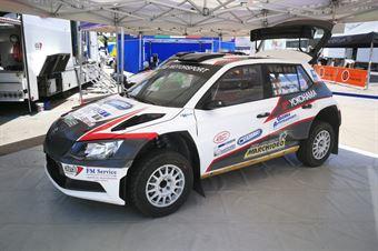 Nicolo Marchioro, Marco Marchetti (Skoda Fabia R5 #106, Etruria), CAMPIONATO ITALIANO RALLY TERRA