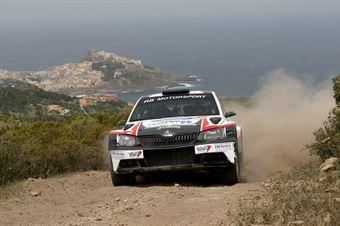 Nicolo Marchioro, Marco Marchetti (Skoda Fabia R5 #106), CAMPIONATO ITALIANO RALLY TERRA