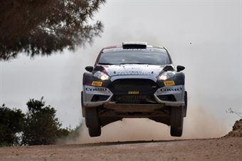 Massimo Squarcialupi, Giovanni Squarcialupi (Ford Fiesta R5 #112), CAMPIONATO ITALIANO RALLY TERRA