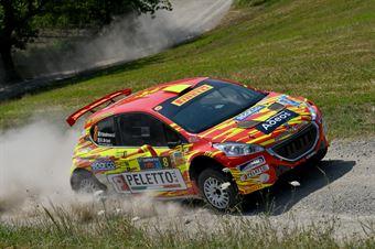 Paolo Andreucci; Rudy Briani (Peugeot 208T16 R5 #8; Maranello Corse), CAMPIONATO ITALIANO RALLY TERRA