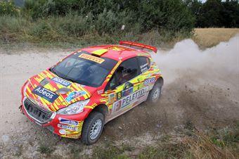 Paolo Andreucci, Rudy Briani (Peugeot 208T16 R5 #8, Maranello Corse), CAMPIONATO ITALIANO RALLY TERRA