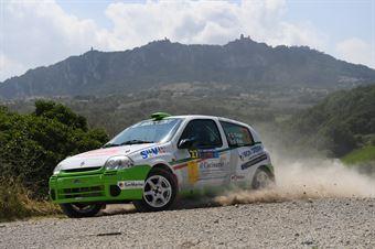 Davide Cagni, Stefano Palu (Renault Clio N3 #27), CAMPIONATO ITALIANO RALLY TERRA