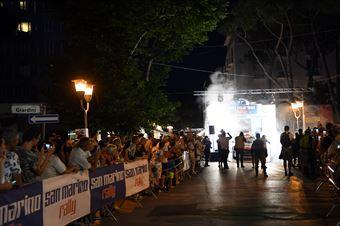 Cerimonia di partenza Viale Ceccarini Riccione,, CAMPIONATO ITALIANO RALLY TERRA