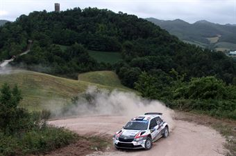 Nicolo Marchioro, Marco Marchetti (Skoda Fabia R5 #4, Etruria), CAMPIONATO ITALIANO RALLY TERRA