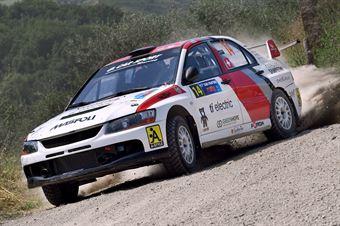Luca Maspoli, Marco Menchini (Mitsubishi Lancer Evo IX #14), CAMPIONATO ITALIANO RALLY TERRA