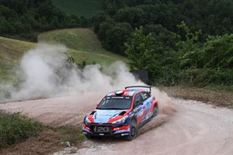 Umberto Scandola, Guido D Amore (Hyundai i20 R5 #1, Movisport), CAMPIONATO ITALIANO RALLY TERRA