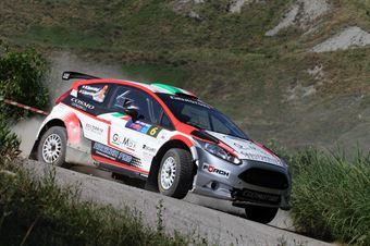 Massimo Squarcialupi, Giovanni Squarcialupi (Ford Fiesta R5 #6), CAMPIONATO ITALIANO RALLY TERRA