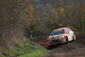 Paolo Andreucci, Rudy Briani (Peugeot 208 T16 #9, Maranello Corse), CAMPIONATO ITALIANO RALLY TERRA