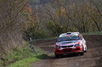 Piergiorgio Bedini, Marco Pollicino (Mitsubishi Lancer Evo #39, Movisport), CAMPIONATO ITALIANO RALLY TERRA