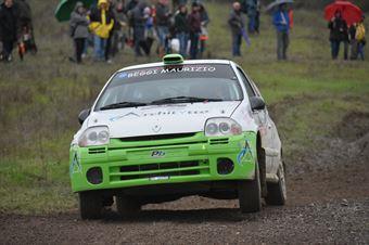 Davide Cagni, Stefano Palu (Renault Clio N3 #82), CAMPIONATO ITALIANO RALLY TERRA