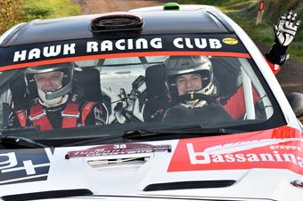 Mattia Codato, Christian Dinale (Mitsubishi Lancer Evo X #38, Hawk Racing Club), CAMPIONATO ITALIANO RALLY TERRA