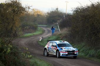 Giacomo Costenaro, Justin Bardini (Skoda Fabia R5 #19, Hawk Racing Club), CAMPIONATO ITALIANO RALLY TERRA