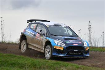 Andrea Dalmazzini, Andrea Albertini (Ford Fiesta R5 #6, X Race Sport), CAMPIONATO ITALIANO RALLY TERRA